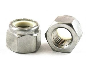 304 STAINLESS NYLOCK NUT
