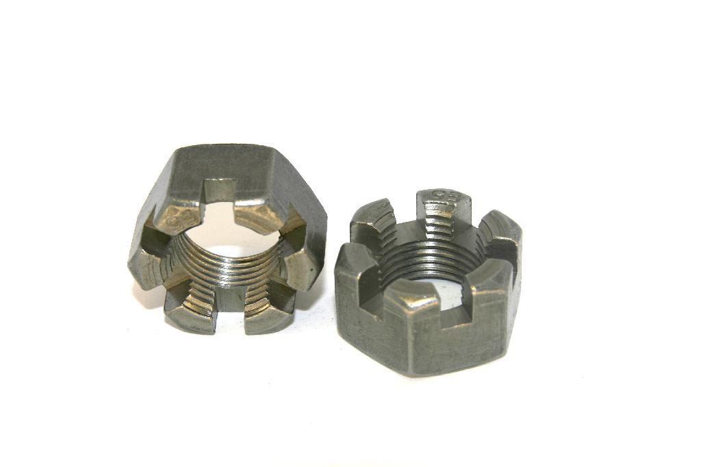 GRADE 2 SLOTTED NUT