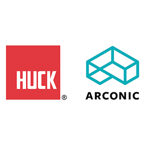 Logo images for Huck Brand and Arconic, Inc.